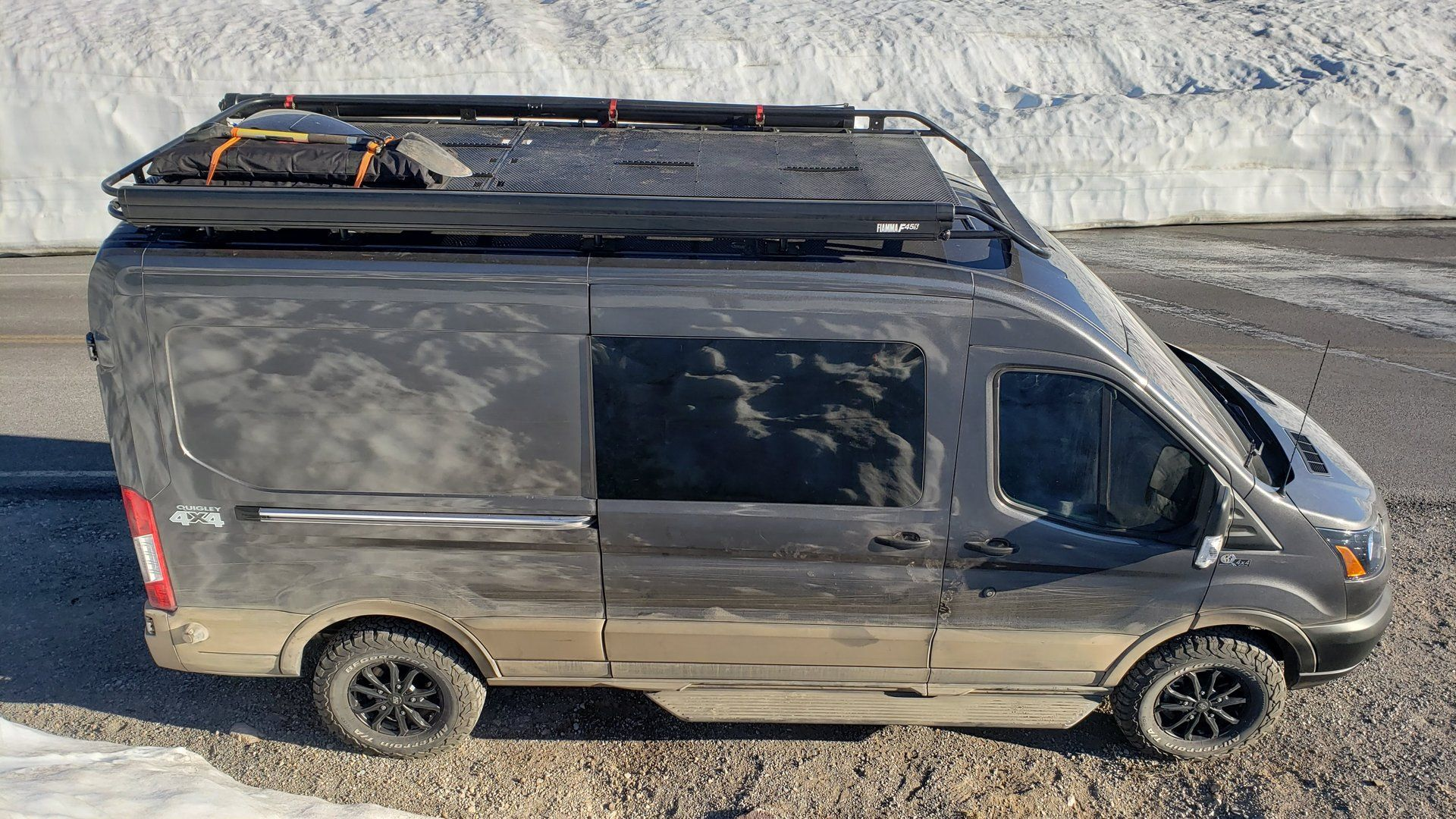 Deck On Roof Or Roof With A View Ford Transit Usa Forum Cargo Van Conversion Deck Ford Transit