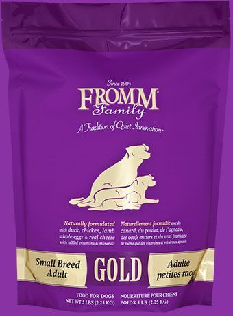 Fromm Gold Small Breed Adult Dry Dog Food Various Sizes