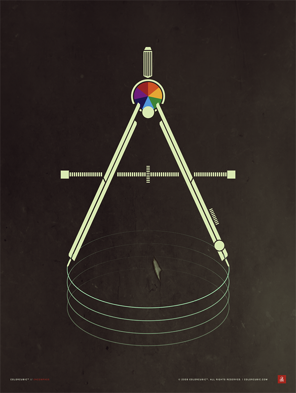 Colorcubic Encompass Print on the Behance Network