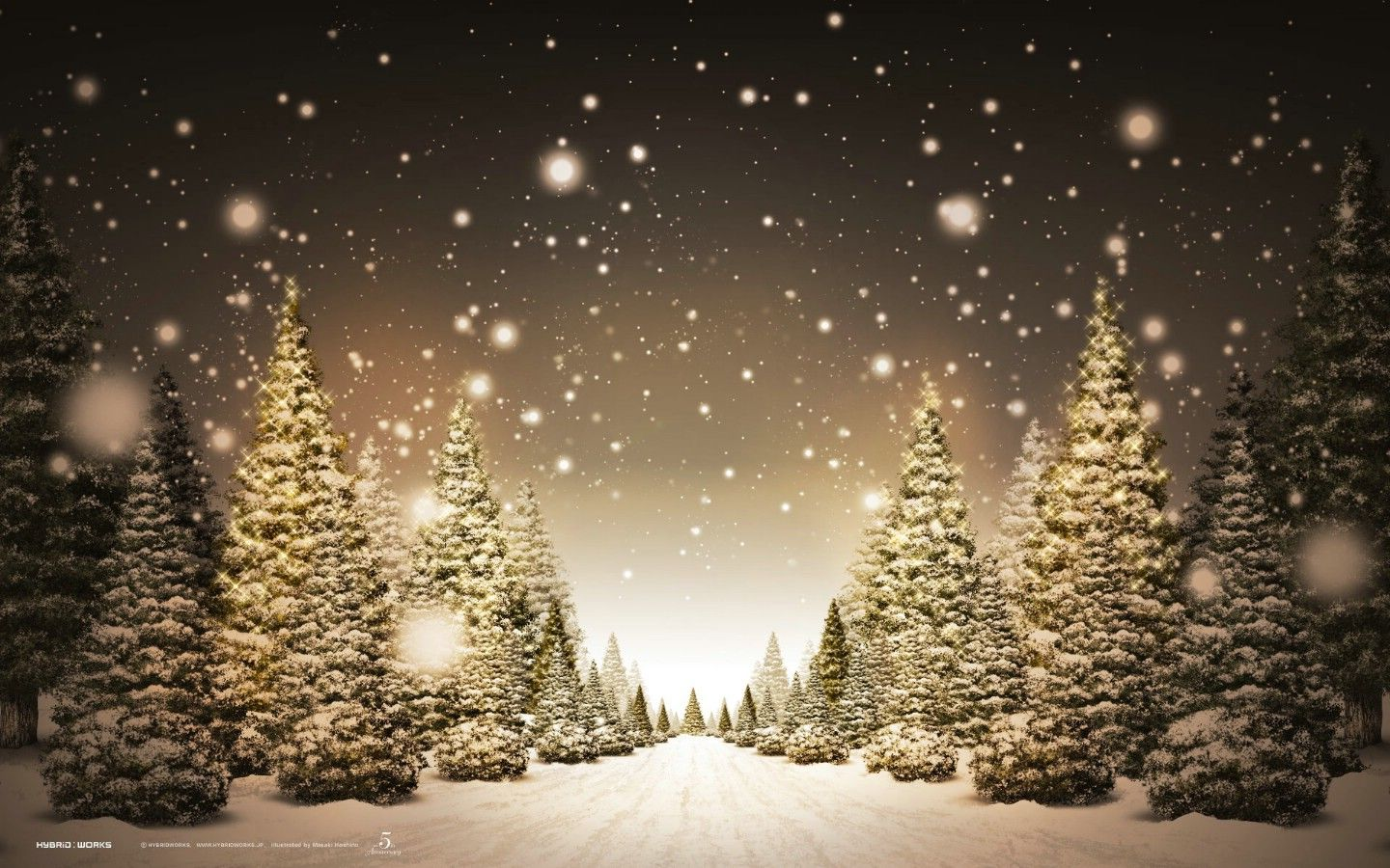 Lovely Christmas Tree Scenery Part - 4: Christmas Beautiful Scenery