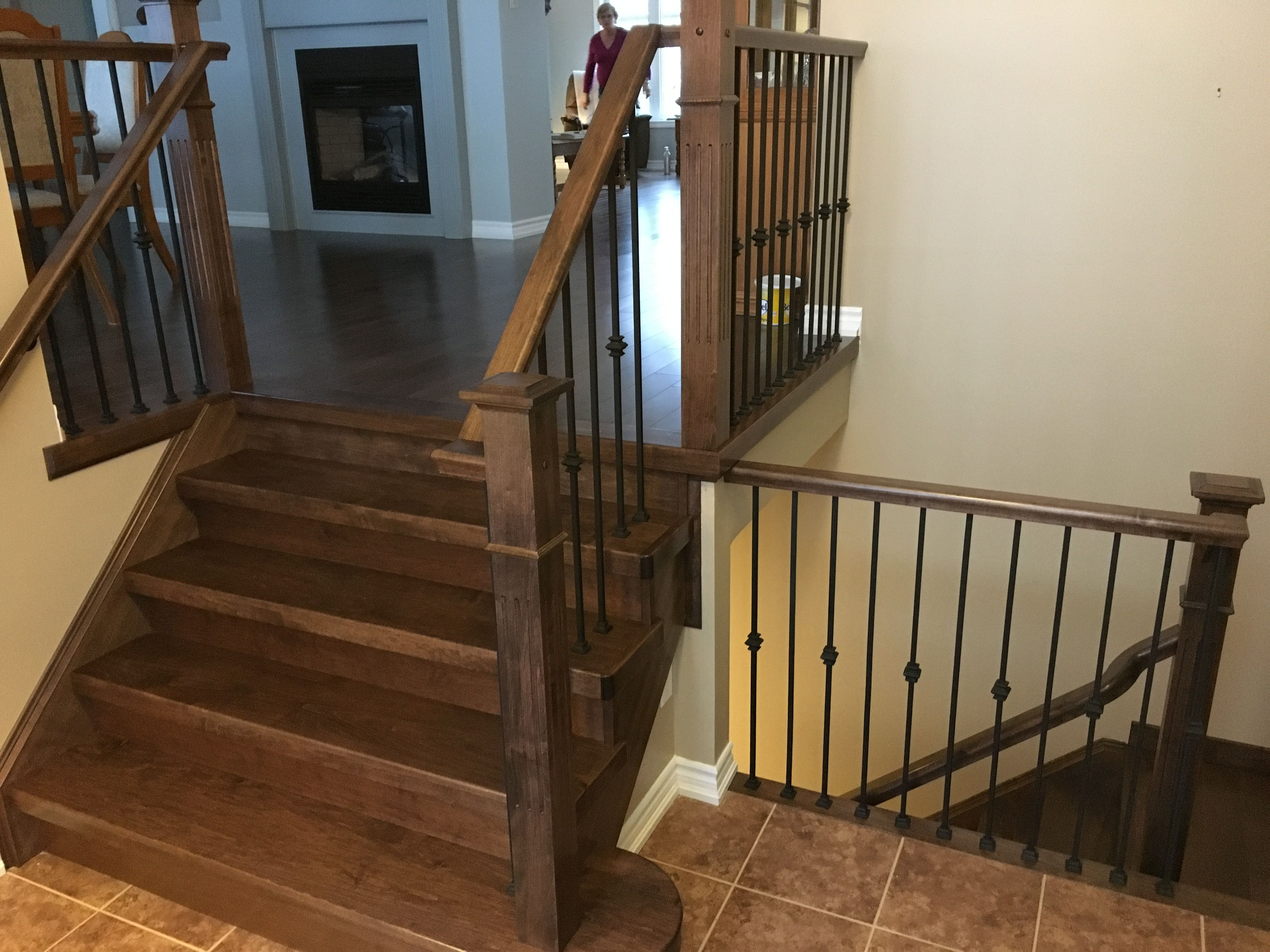 Maple Stair Caps