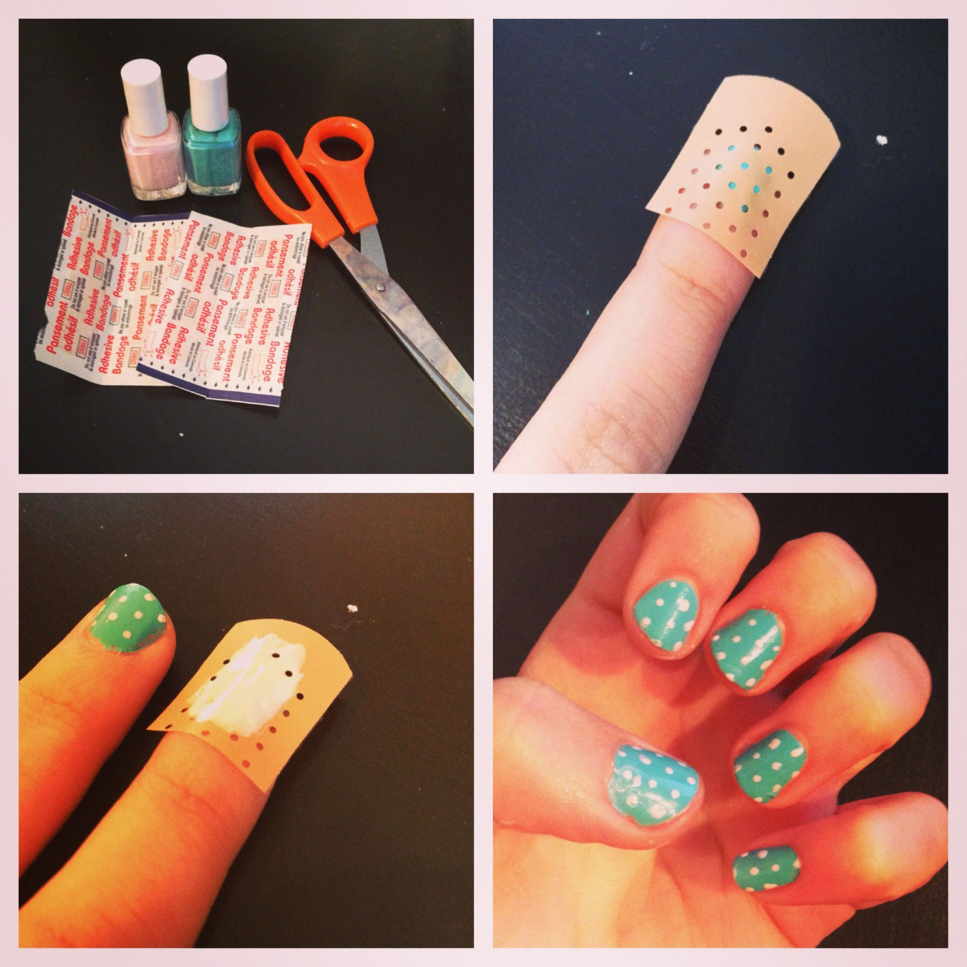 Easy Way To Get Perfectly Dotted Nails!! All You Need Is
