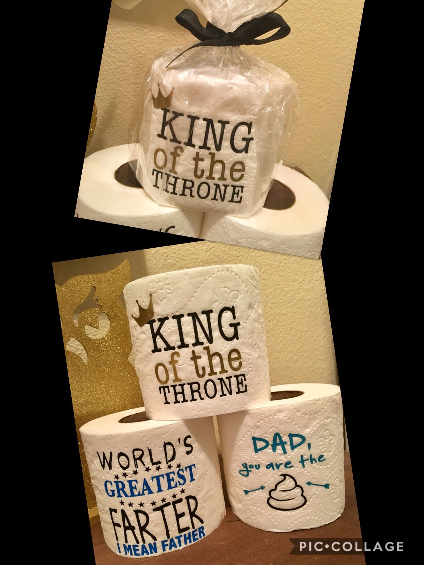 8e081392 Funny Father's Day Gag Gift, Happy Fathers Day, Holiday, Humor, Dad Daddy  Father Papa Husband Grandpa Grandfather, King of the Throne, World's  Greatest Best ...