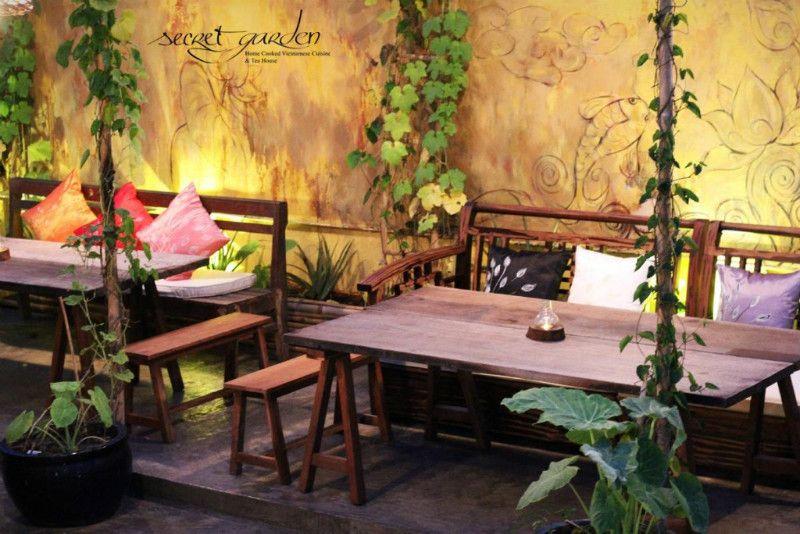Secret Garden Restaurant Ben Nghe Ward Tea House Secret Garden Restaurant