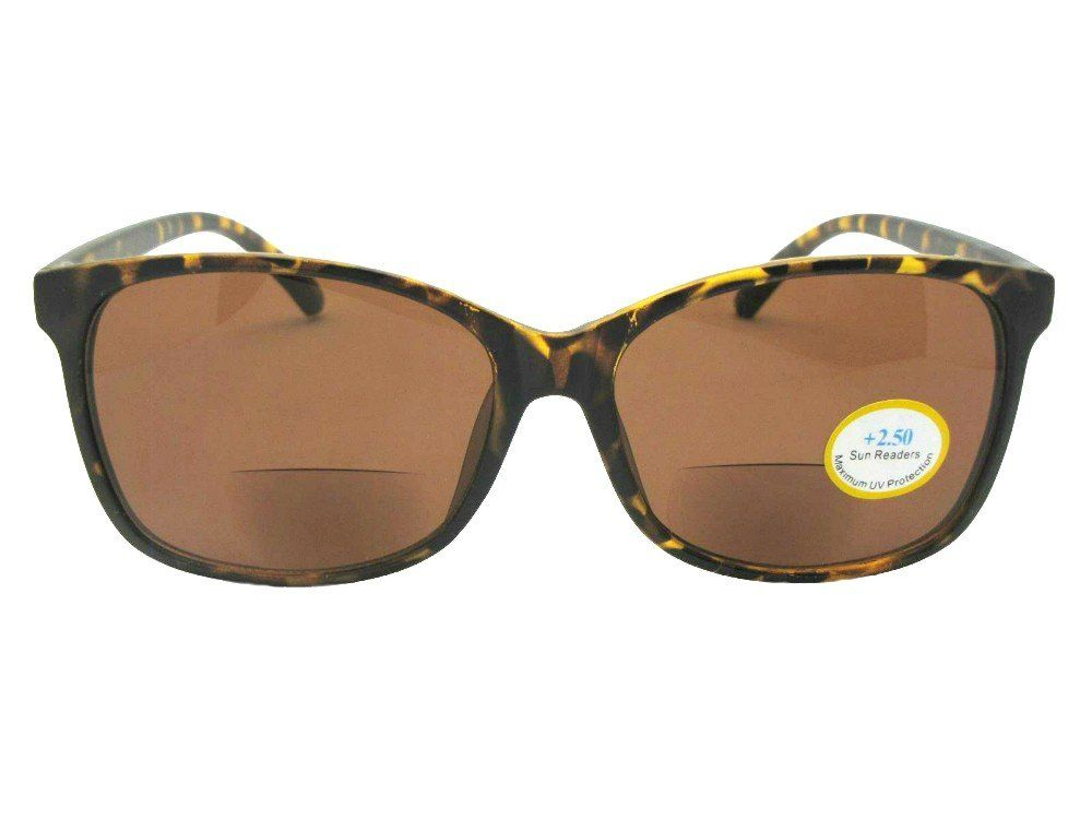 26b2ba035750 Vintage Retro Look Bifocal Sunglasses Style B115 Flat TortoiseBrown Lenses  3.00 ** Click on the image for additional details.-It is an affiliate link  to ...