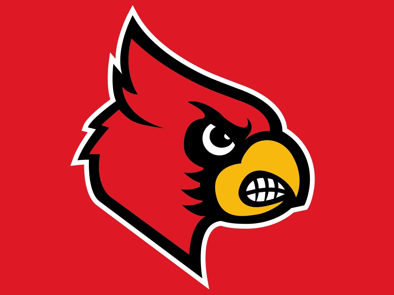 Image result for louisville cardinals logo