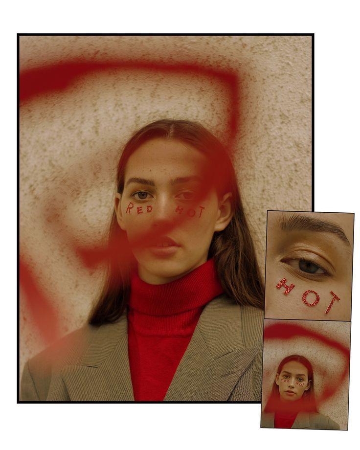 Rotes Model des redaktionellen Modeporträts von Rosanna Jones   - Photography - #des #Jones #model #Modeporträts #Photography #redaktionellen #Rosanna #Rotes #von #editorialfashion