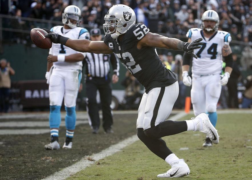Mack Looks Forward To New Start With Bears After Big Trade Oakland Raiders Raiders Raiders Football