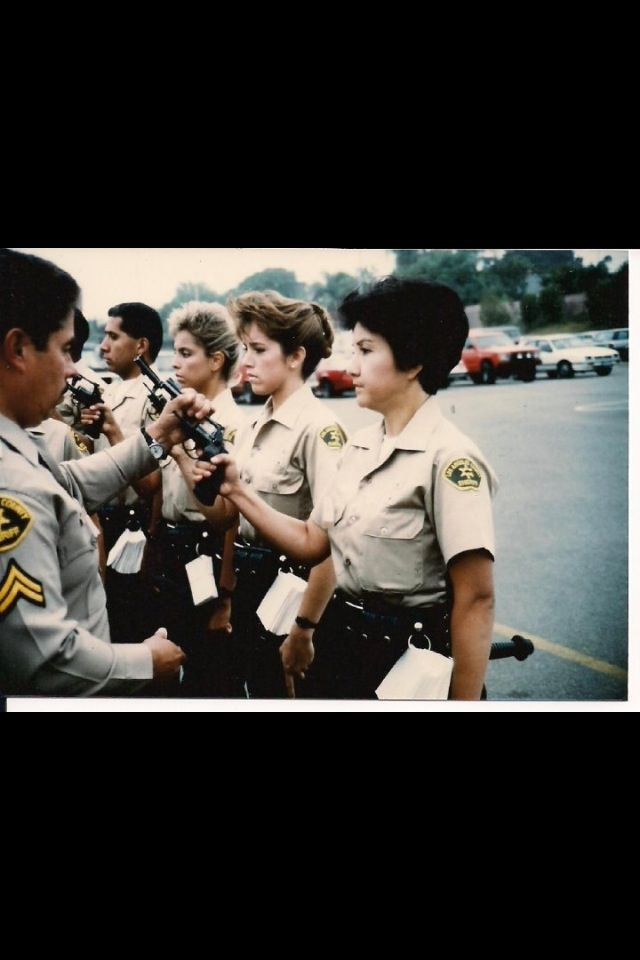 Firearm Inspection Lasd Class 253 Police Officer Police Uniforms Law Enforcement