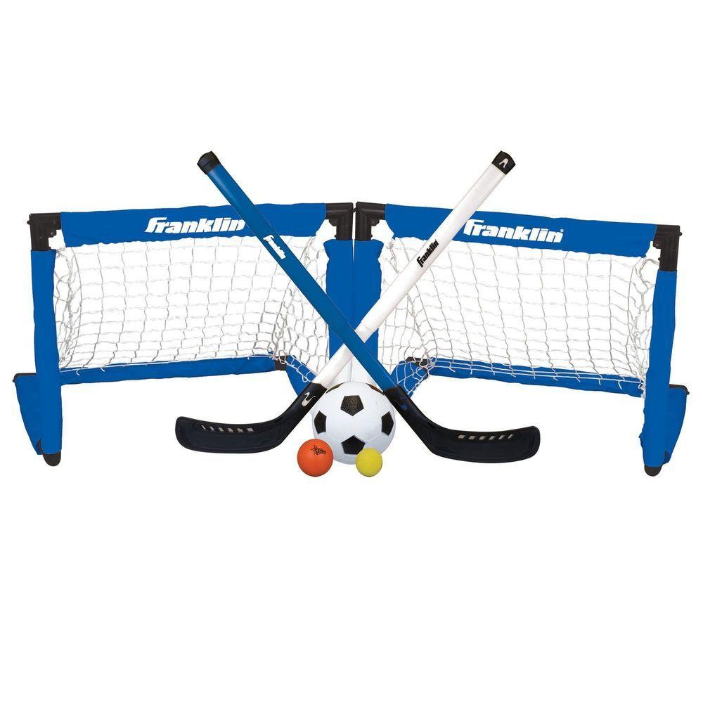 Street Hockey Set Goalie Kids Play Indoor Sports Goal Mini