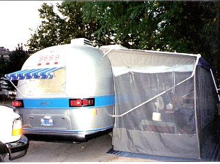 airstream awning screen room google search airstream outdoor