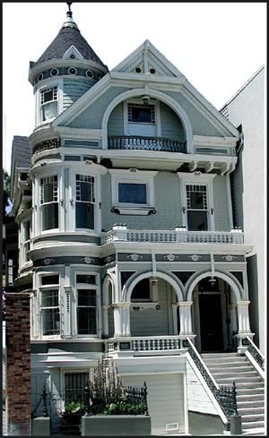 Victorian Edwardian Architecture In San Francisco Edwardian Architecture Victorian Architecture Beautiful Houses Exterior