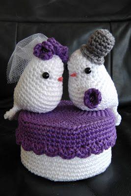 Patroon Lovebirds Gratis Nl Haakpatronen Pinterest Haken