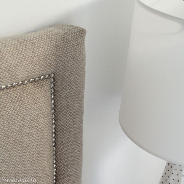 Diy Upholstered Headboard With Nailhead Trim Eamonn And Jack