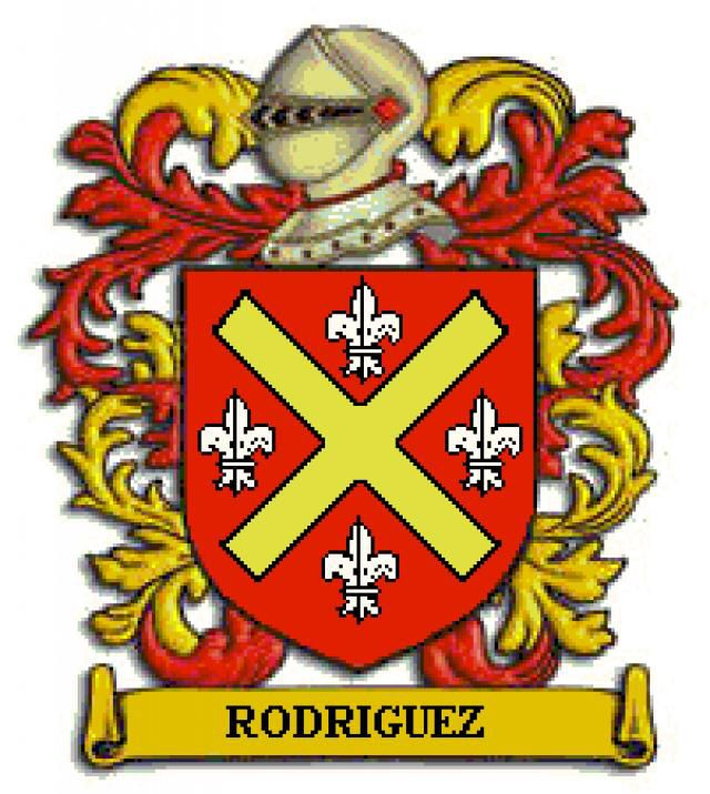 Apellido Rodriguez Escudo De Armas Apellidos Escudo De Armas Escudo Nobiliario