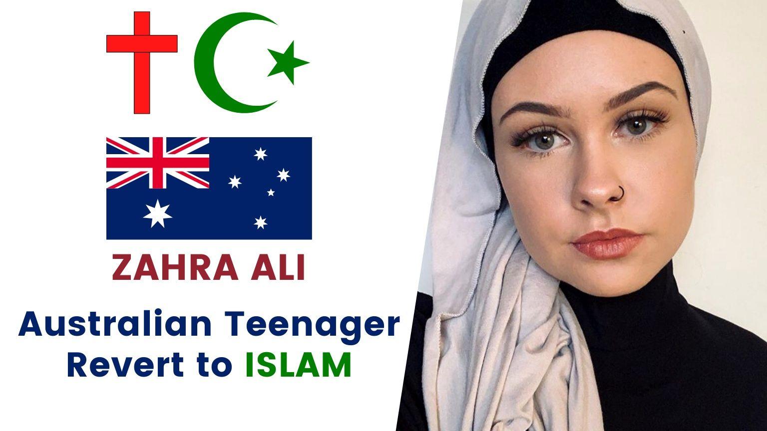 🇦🇺 Aussie Teen Revert Story | Zahra Ali 🧕