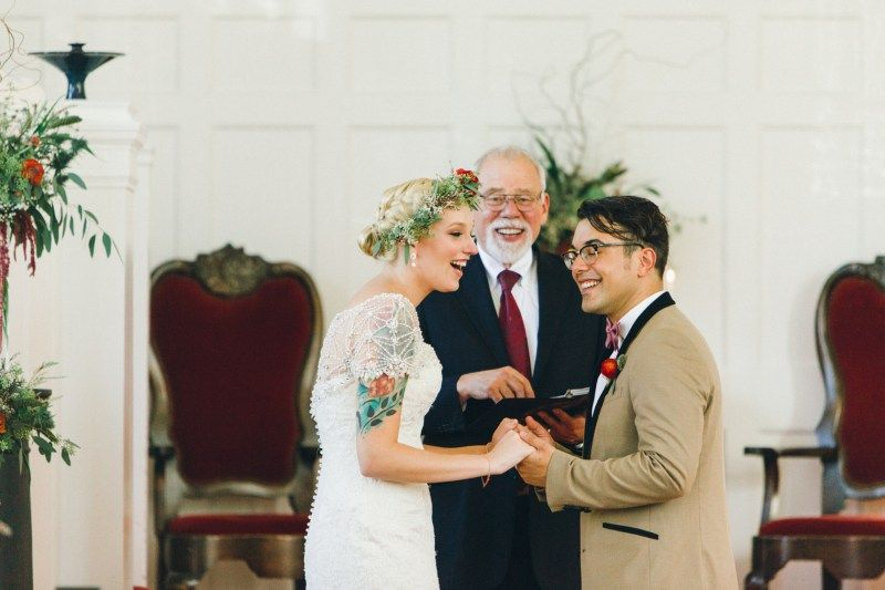 This Pair Shows Us How To Own Writing Personal Vows Hand HoldingVowsWedding CeremonyBreakfast