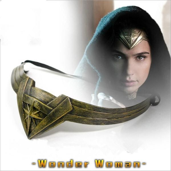 Superhero DC Wonder Woman Cosplay Head Accessories Headband Props Movie US SHIP