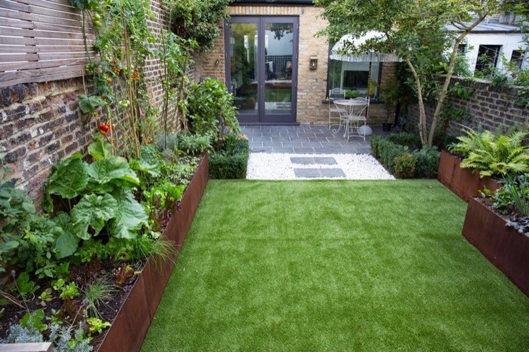 Inspiration Et Idees Pour Un Jardin En Longueur En 2020 Patio