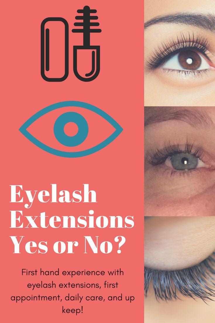 Eyelash extensionsyes or no with images eyelash