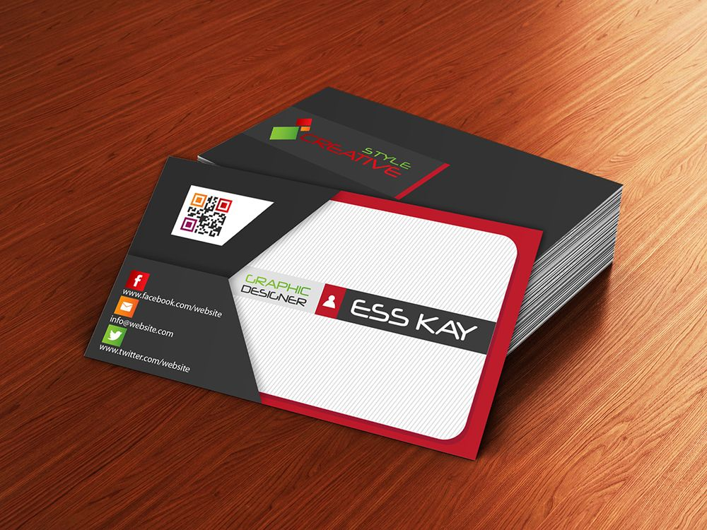 Free presentation cards dawaydabrowa envelope style creative business card template mockup presentation accmission Choice Image