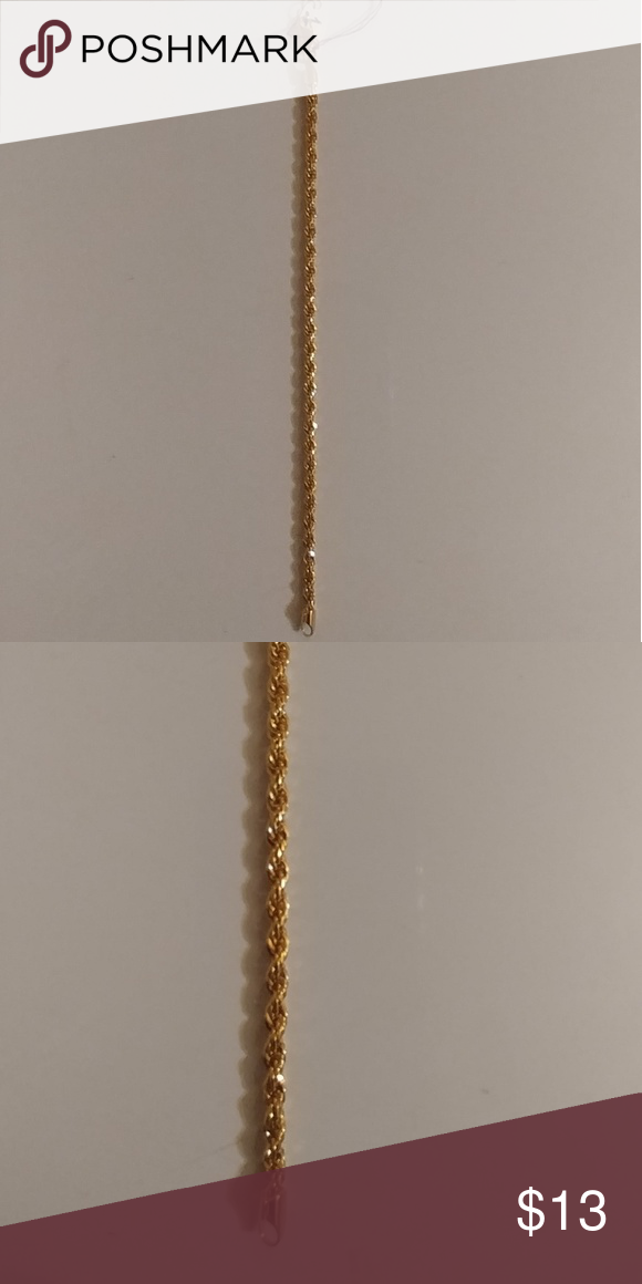 Gold Bracelet Lobster clasp Bracelets and Chains