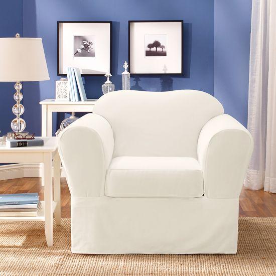 White Chair Slipcover