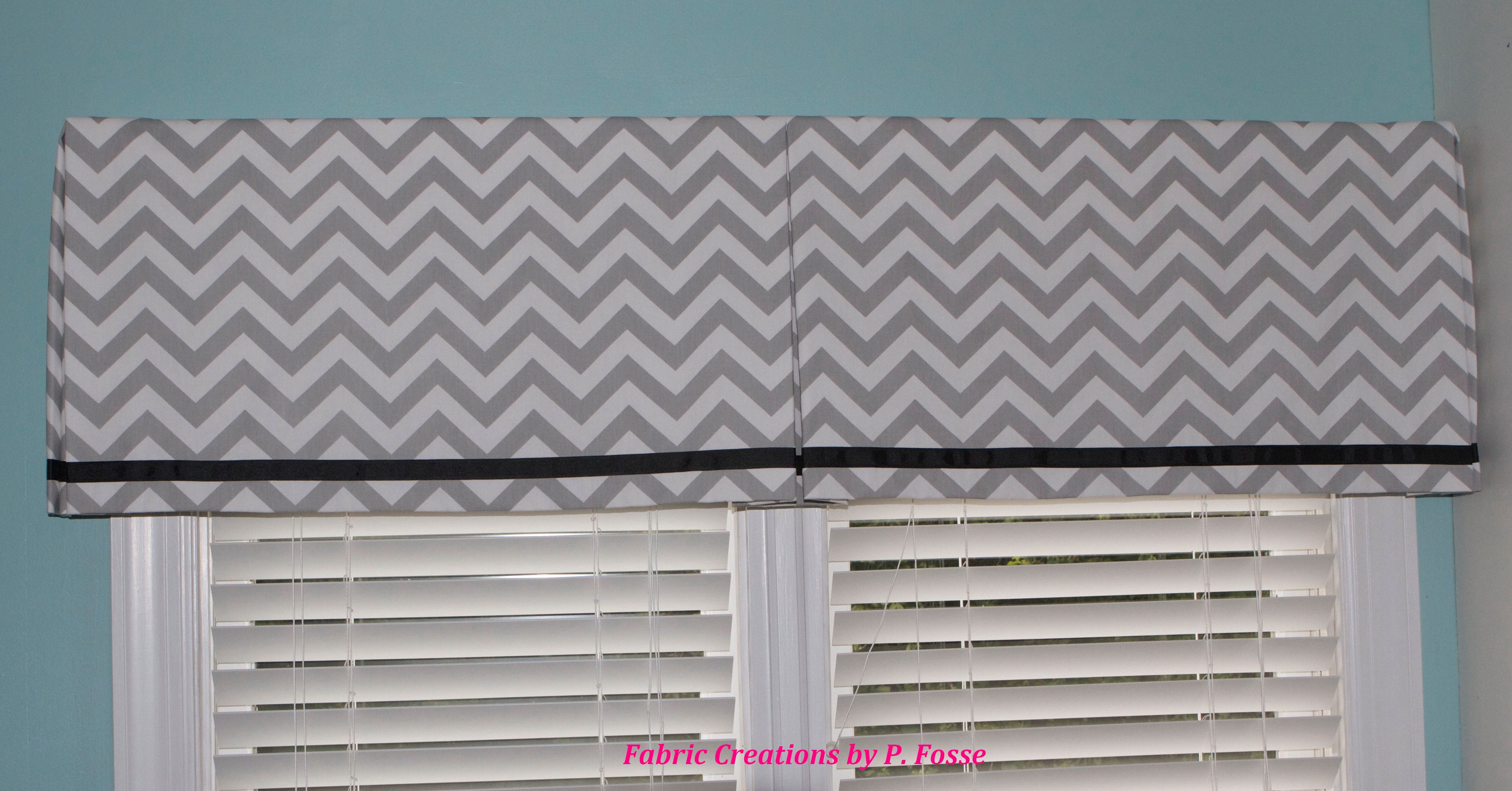 Box Pleat Valance By Fabric Creations Curtains