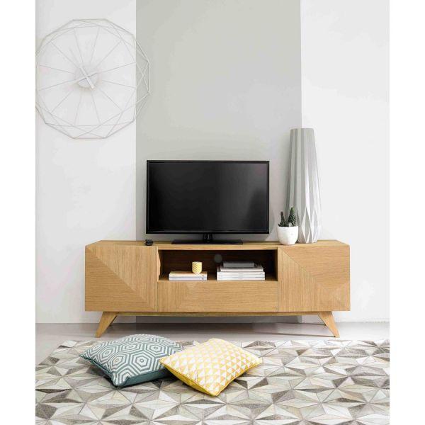2 Door 1 Drawer Vintage Unit Origami Origami Maisons Du Monde Us Tv Unit Living Room 2017 Bedroom Organization Diy