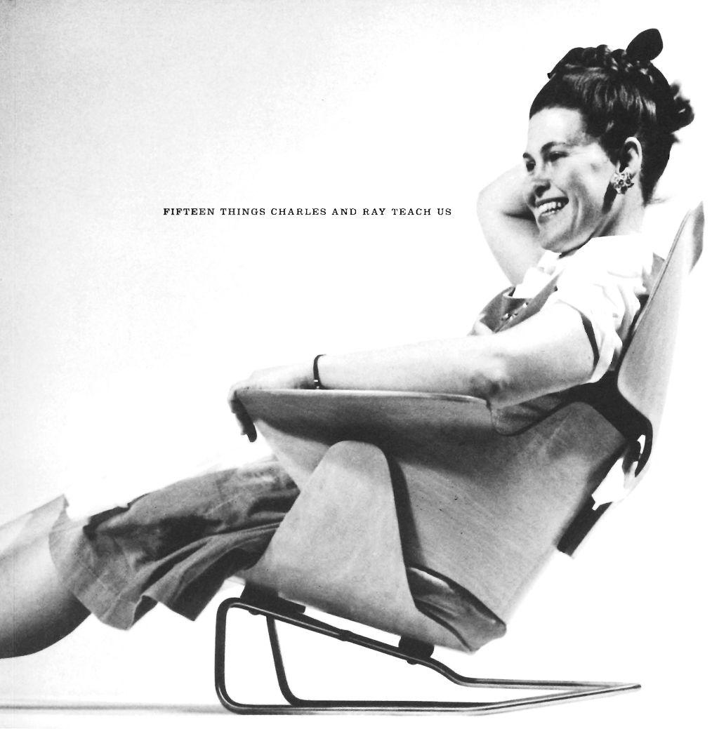 Via Kootation Ray Eames Chairs Pinterest Charles eames Mid