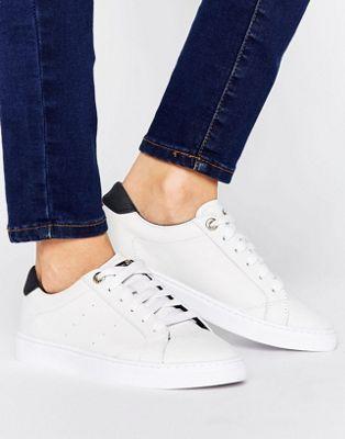 d9e1417bc Tommy Hilfiger Venus White Lace Up Sneakers