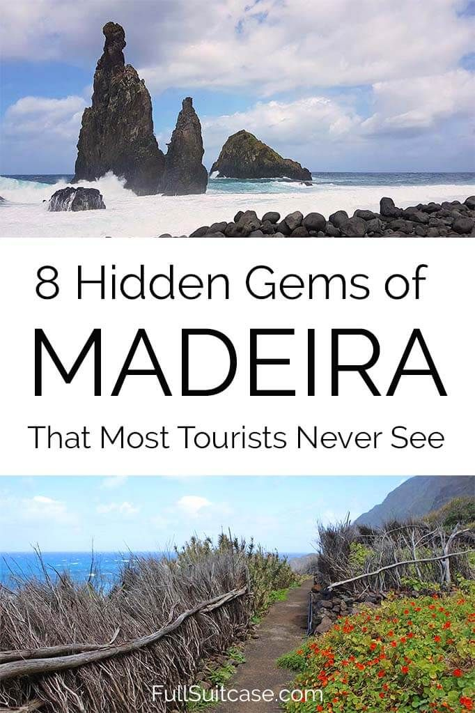 8 Hidden Gems of Madeira That Most Tourists Never See #traveltoportugal