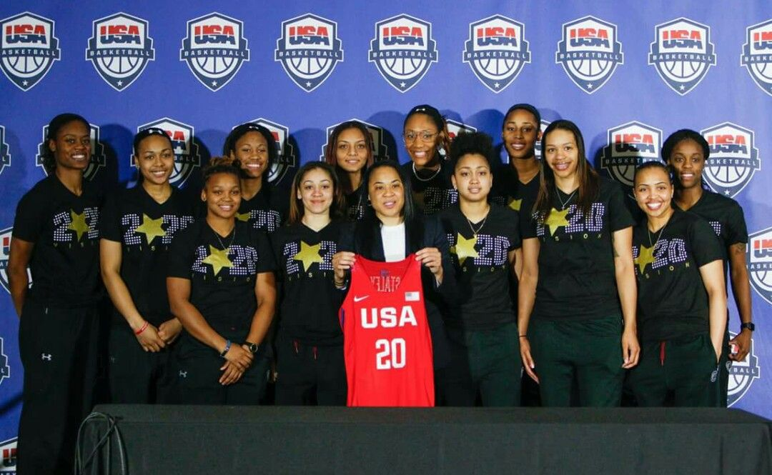 Another feather in Coach Staley's cap. Women's Basketball Head Coach of 2020 Olympics.