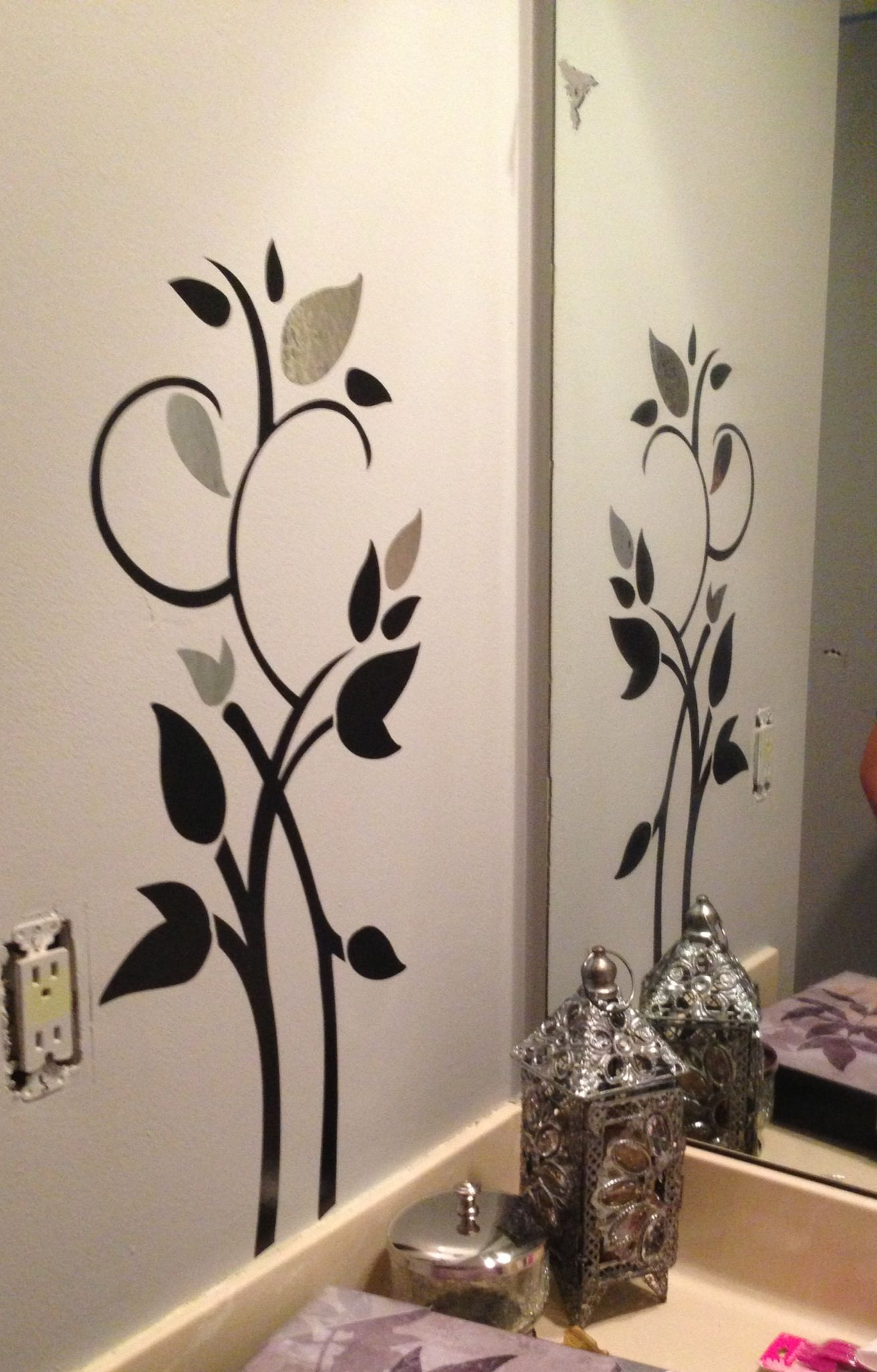 Wall Decals From Target Easy To Do And Inexpensive Wall Paint Designs Simple Wall Paintings Diy Wall Painting