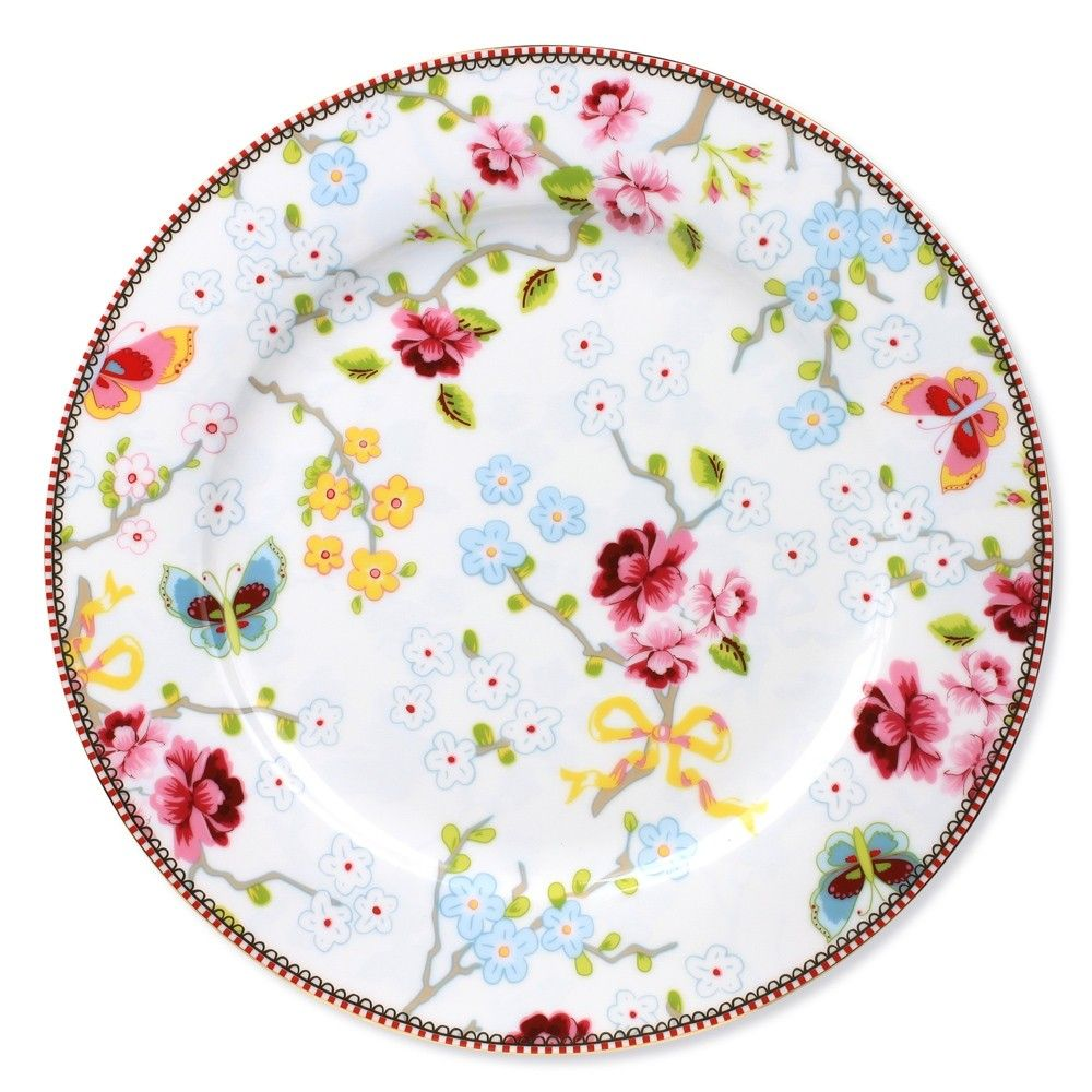 Discover the Pip Studio Chinese Rose White Dinner Plate - 26.5cm at Amara  sc 1 st  Pinterest & Discover the Pip Studio Chinese Rose White Dinner Plate - 26.5cm ...