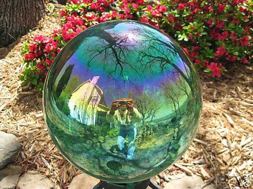 Gazing Ball Glass Globe like the one in my garden