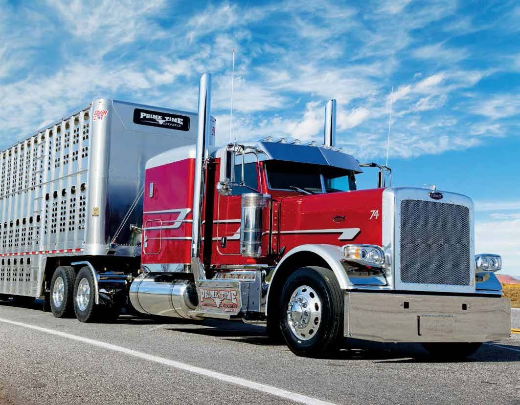 Tractor Trailer Rings : Kings of the road peterbilt rigs and trucks