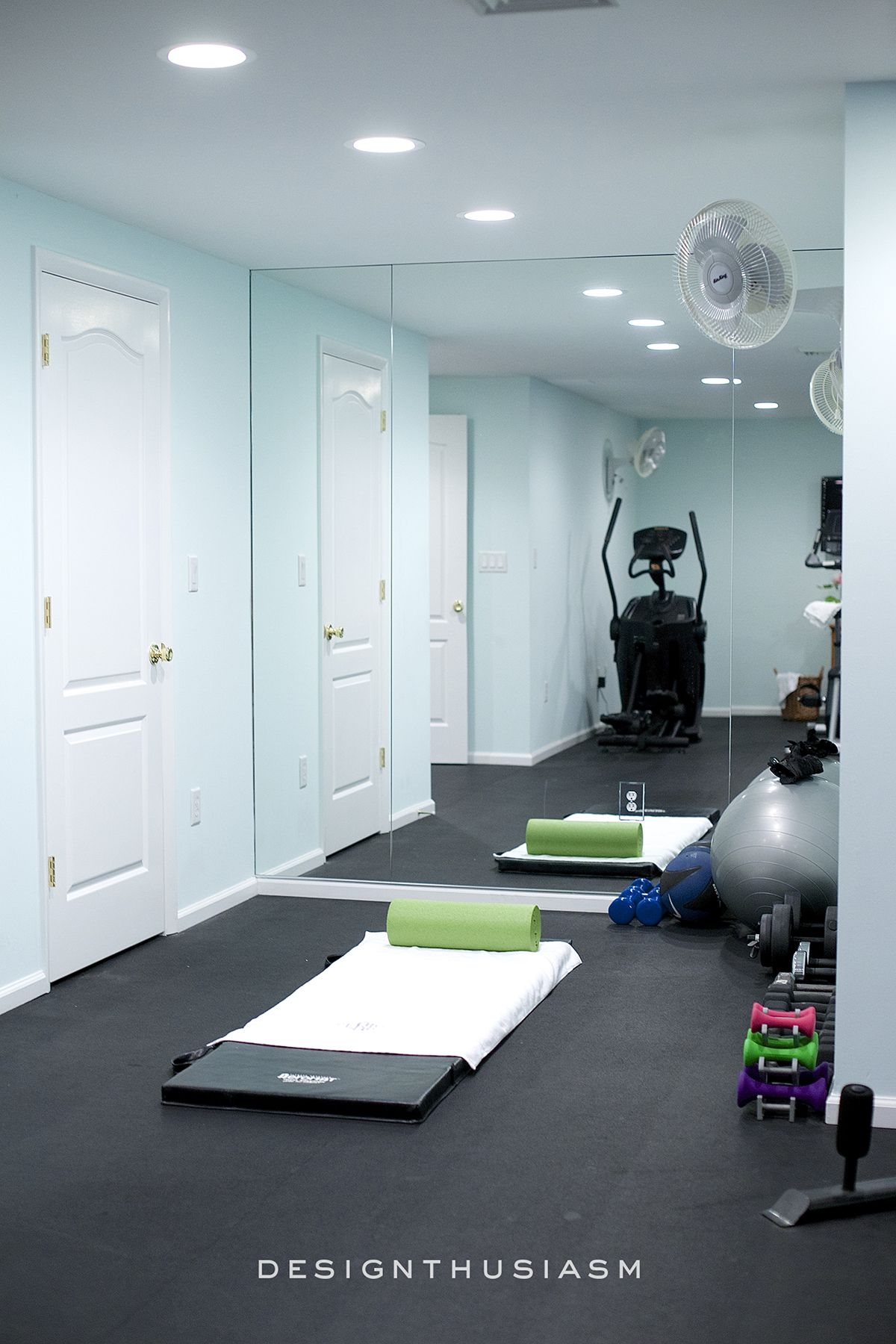 10 ways to add style and function to your home gym design designthusiasm com