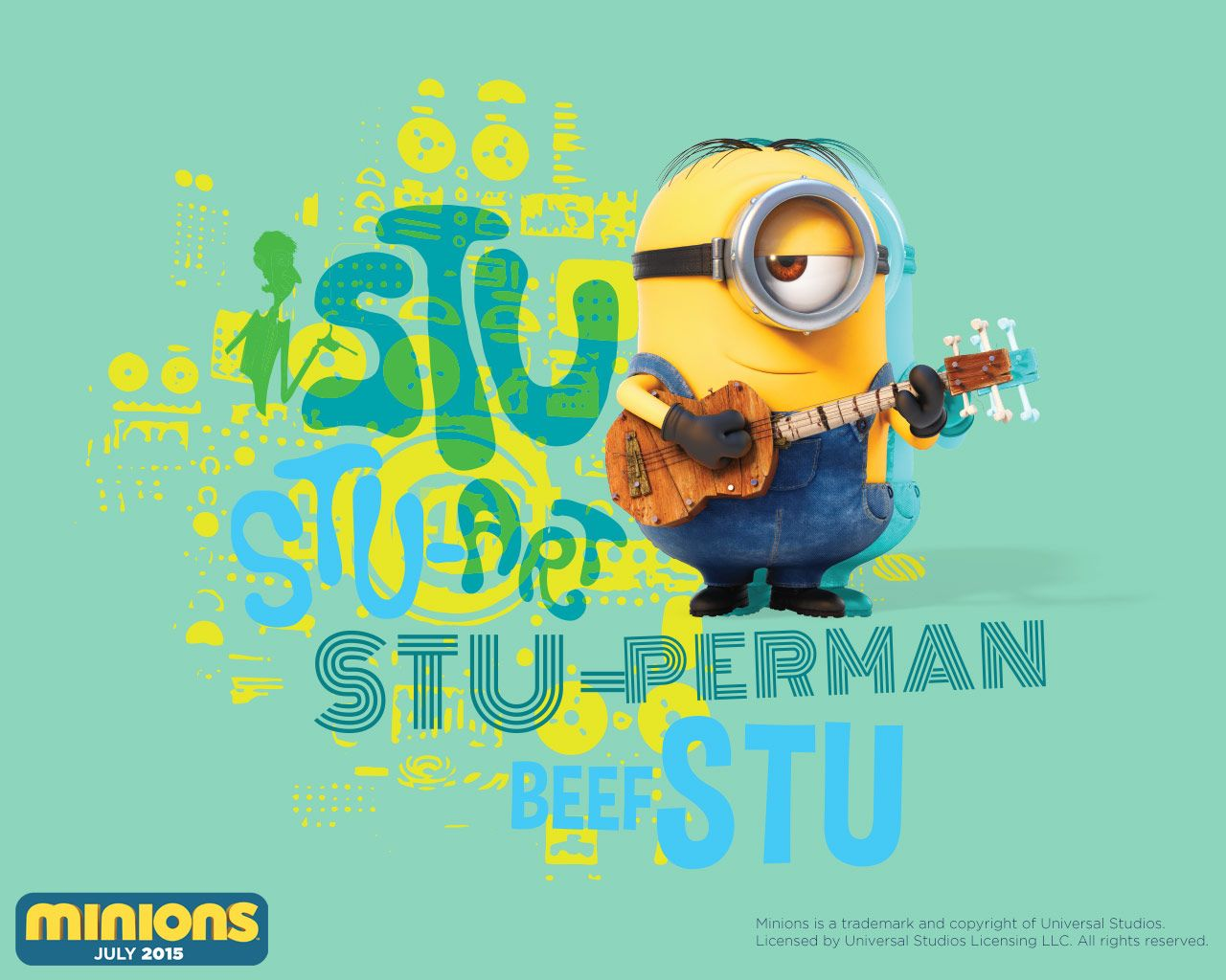 Play Fun Games And Win Goodies Like This Minions Desktop Wallpaper