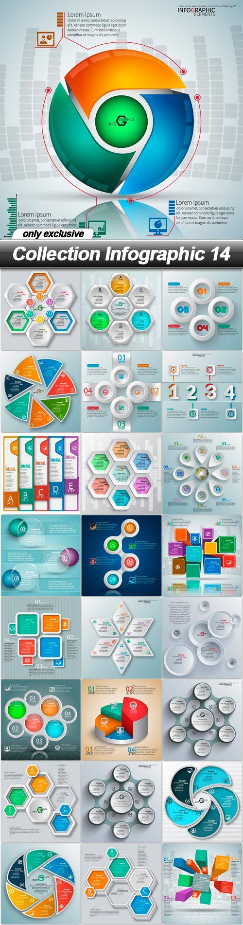 Collection Infographic 14 | Infographic, Infographics and ...