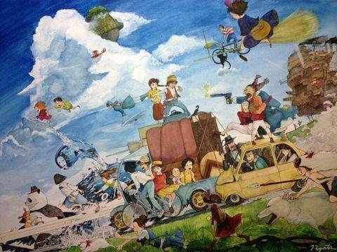 Ghibli おしゃれまとめの人気アイデア Pinterest Kanae ジブリ 宮崎駿 アートのアイデア