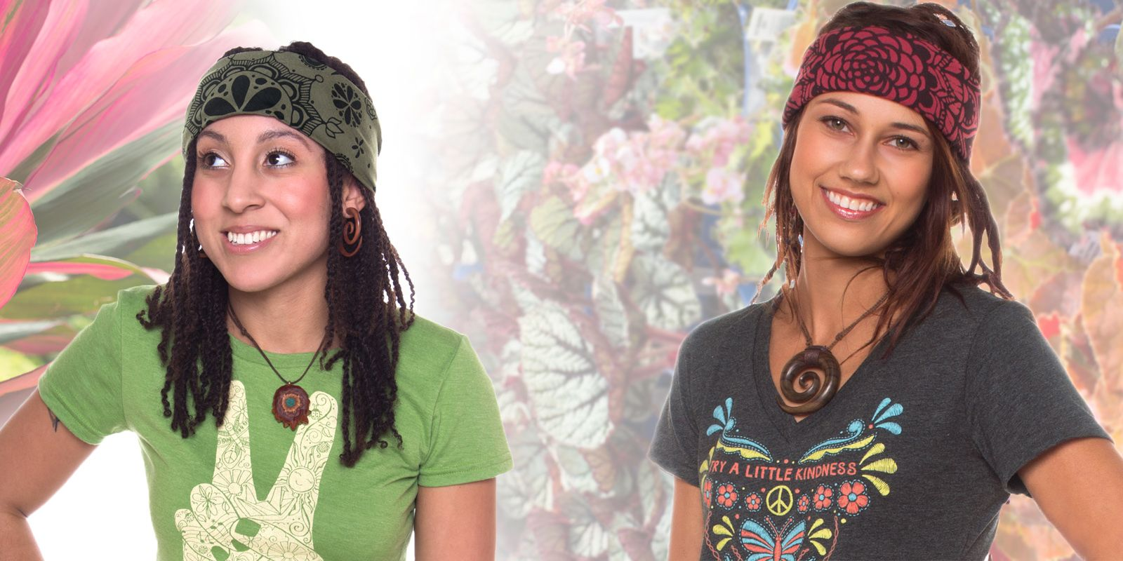 How to Hippie Wear Headbands images