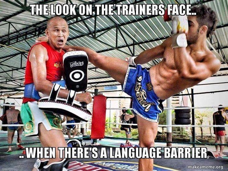 Martial Arts Muay Thai Memes