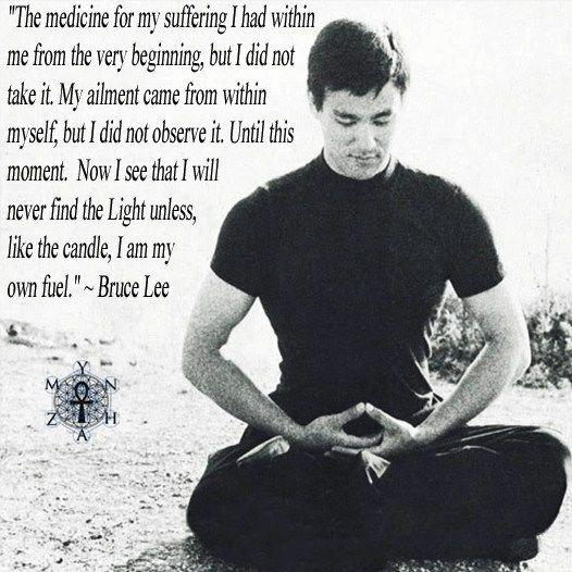 Channeling Bruce Lee, Part One | Channeling Erik®