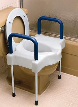Bariatric Toilet Seat Riser This Toilet Seat Can Help The Elderly