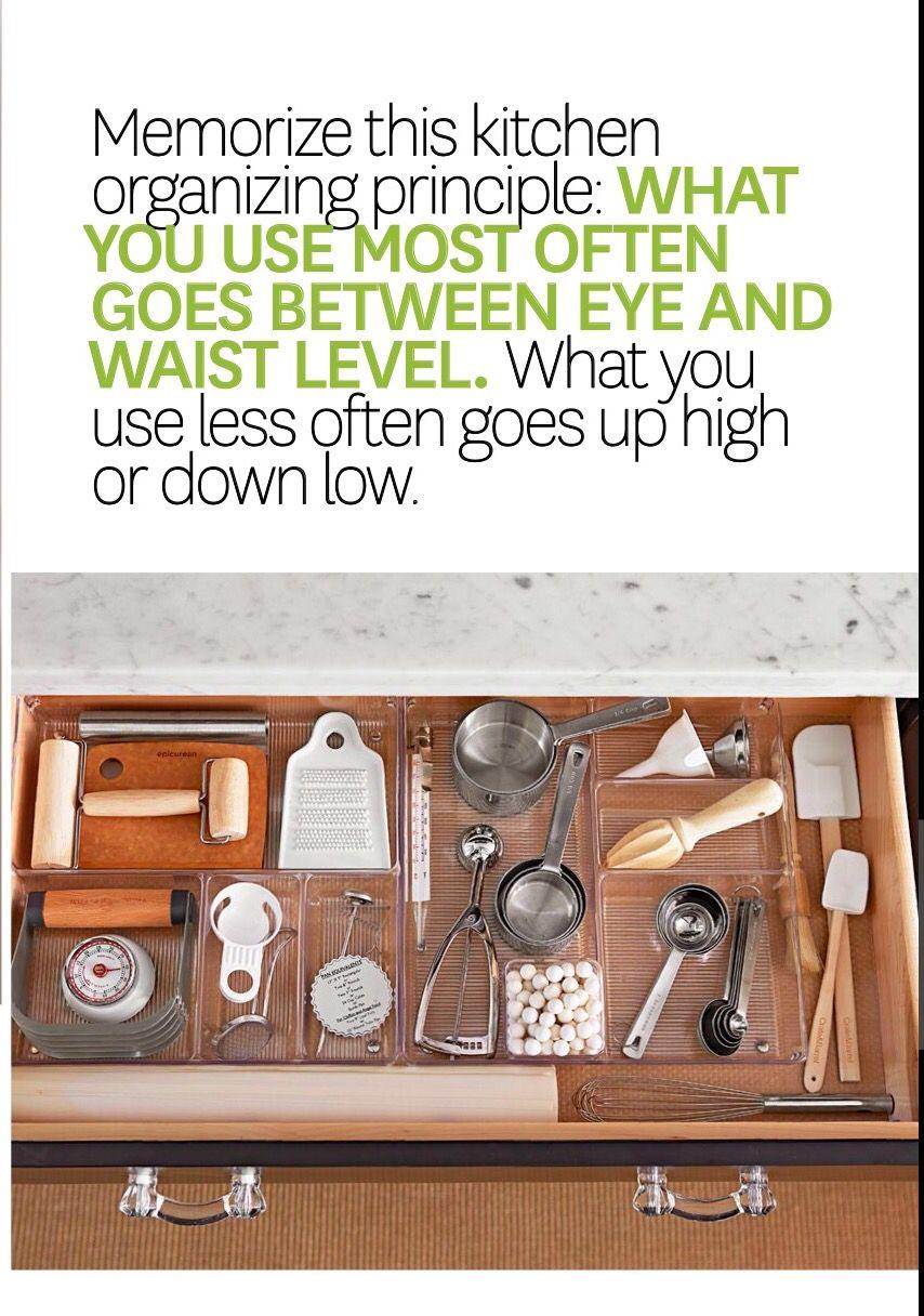 Divided kitchen drawer organizer