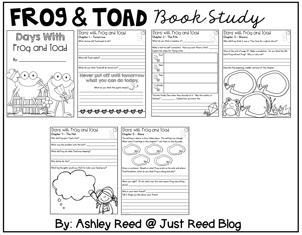 Link Science and Literature with a Frog and Toad book