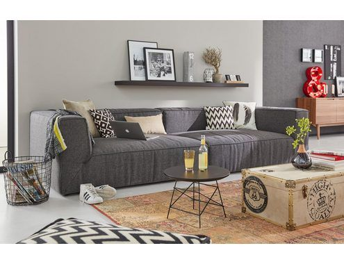 Tom Tailor Big Sofa Big Cube Inklusive Bettfunktion Online Kaufen Otto Grosse Sofas Sofa Schwarzes Sofa