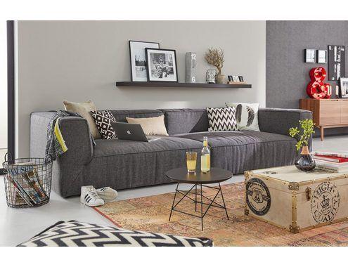 Tom Tailor Big Sofa Big Cube Wahlweise Mit Sitztiefenverstellung Grosse Sofas Sofa Schwarzes Sofa