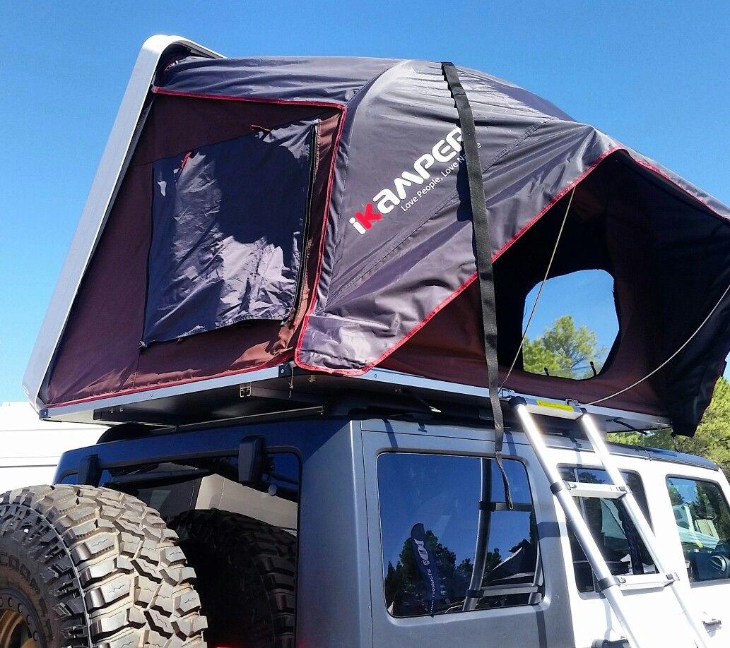 Skycamp 2X 2 man hard shell rooftop tent Overland gear